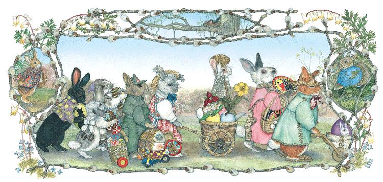 The Easter Egg by Jan Brett- Creative Learning Blog