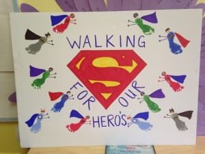 Walking for our Heroes - Creative Learning - Relay for Life