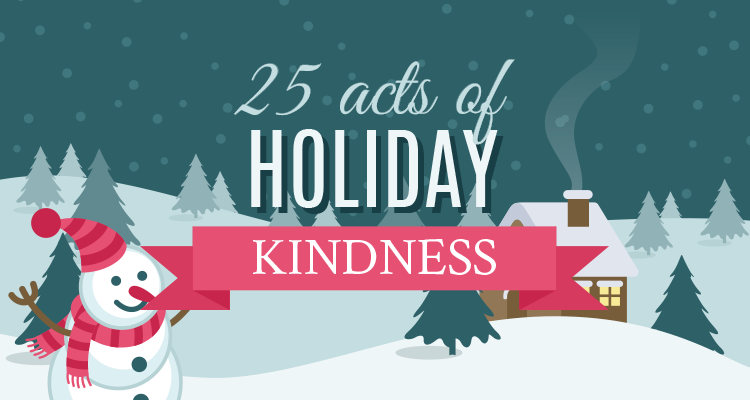 25 Random Acts of Holiday Kindness