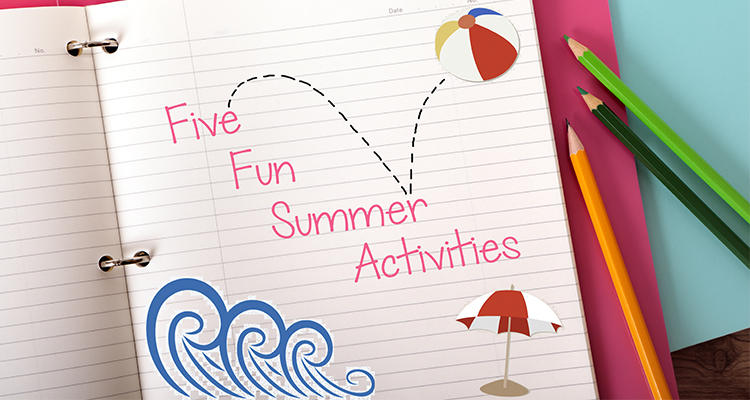 5 Fun, Easy Summer Time Crafts and Activities
