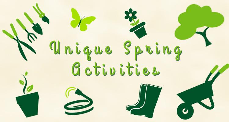 Unique Spring Activities